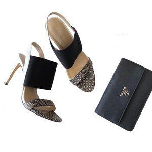 new BCBGeneration ღ Elastic Cuff Stiletto Sandal